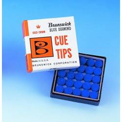 BRUNSWICH BLUE DIAMOND CUE TIP